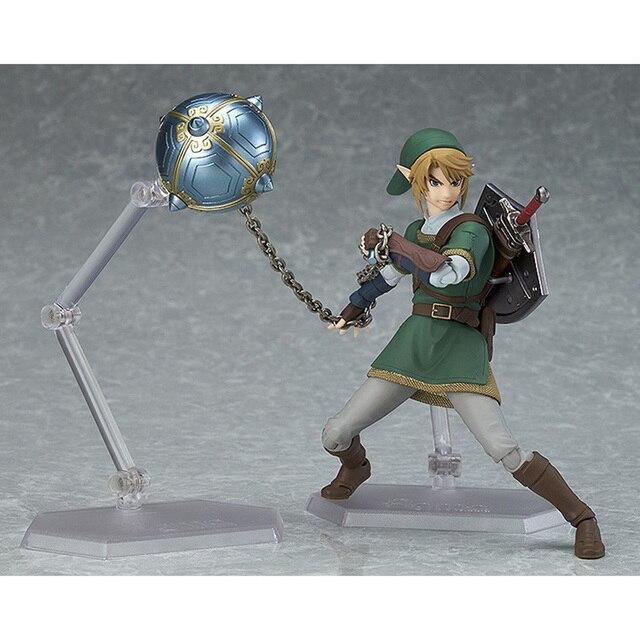 The Legend of Zelda Skyward Sword Link Figma 320 Twilight Princess Action Figure Toys Doll 1