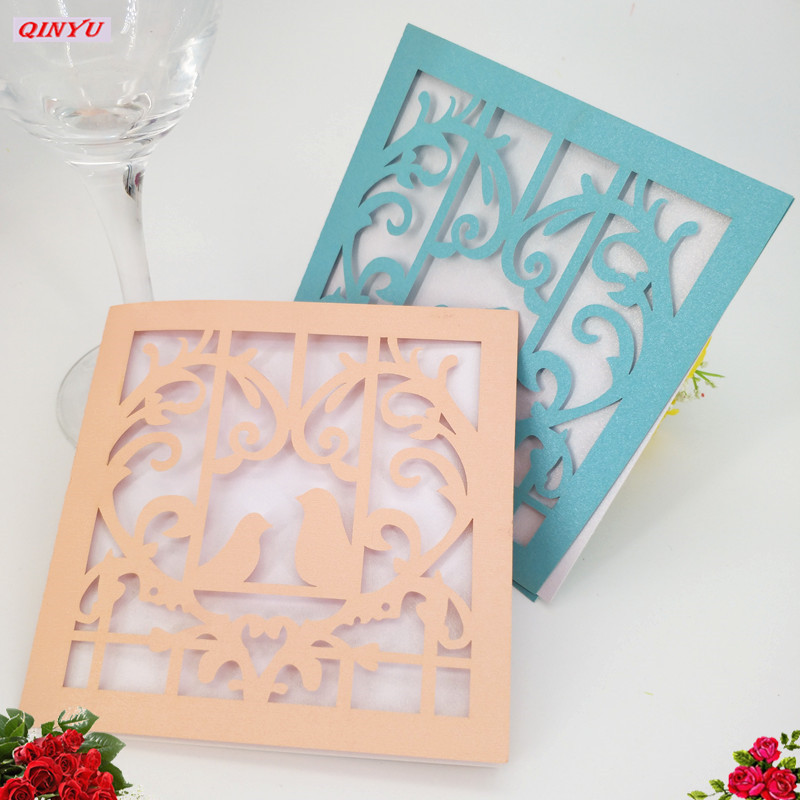 Home & Garden 50pcs/lot Paper Greeting Cards Christmas Gifts Baby Shower Souvenirs Postcards Wedding Greeting Cards For Lover 6zsh237 Activating Blood Circulation And Strengthening Sinews And Bones Event & Party
