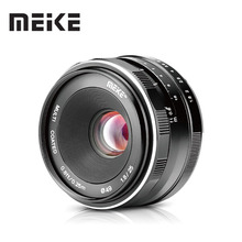 Meike 25mm F1.8 APS C 광각 수동 렌즈 캐논 EF M 용 모든 단일 시리즈/니콘 1 카메라 용 M6 M2 M3 M5 M50 M100 V1 J5