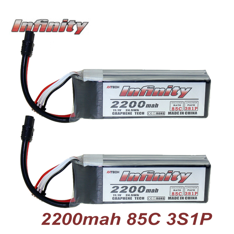 Infinity 3S  LiPo Battery 2200mah 85C With SY60/ XT60 Connector Plug Graphene Tech for RC Quadcopter Drone Rechargeable BatteryInfinity 3S  LiPo Battery 2200mah 85C With SY60/ XT60 Connector Plug Graphene Tech for RC Quadcopter Drone Rechargeable Battery