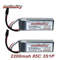 Infinity 3S LiPo Battery 2200mah 85C With SY60/ XT60 Connector Plug Graphene Tech for RC Quadcopter Drone Rechargeable Battery