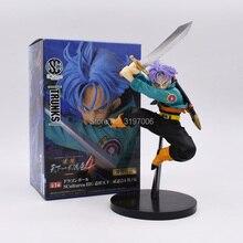 15cm Dragon Ball Z Trunks Figure Toy Trunks With Sword Tenkaichi Budokai 4 Anime DBZ Collectible Model Doll Free Shipping