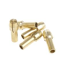 1 Set 3.17mm+5Pcs 0.5-3.0mm Micro Twist Hand Drill Chuck Electric Bit Collet Hot