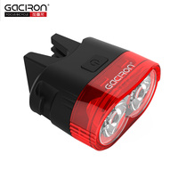 Gaciron 60 Lumens USB Rechargeable LED Mountain Road Bike Tail Light MTB Safety Warning Bicycle Smart