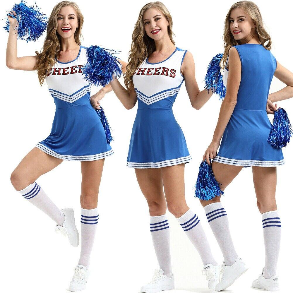 Sexy cheerleader dancing