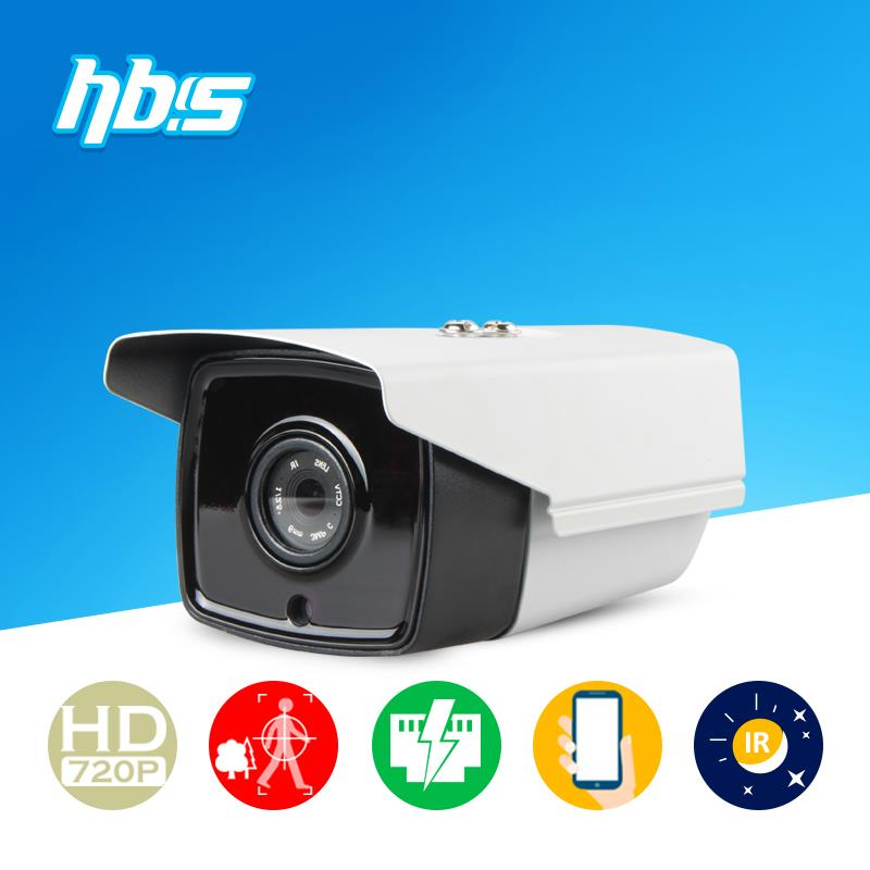 HBSS 1 0MP POE Camera IR night vision Onvif motion detection Power over Ethernet Onvif Dual