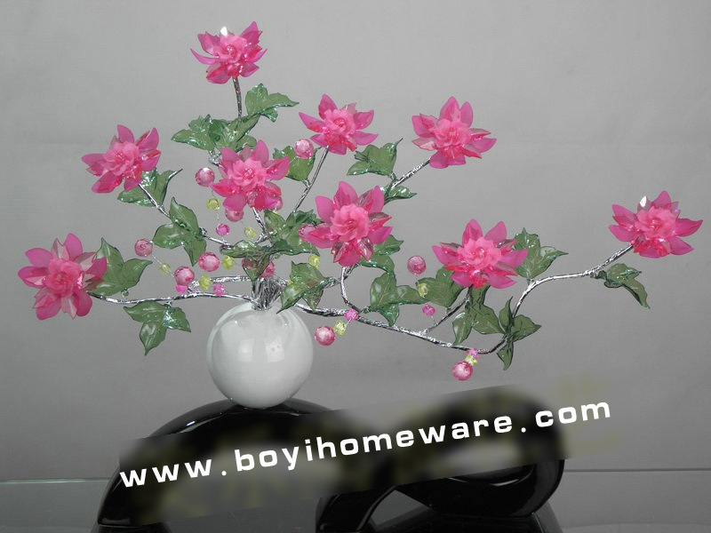 Fashion Modern Home Decoration Vase With Crystal Flowers European Ceramic Handicraft Wedding Gifts Wholesale And Retail A1 305 In Vases From Garden