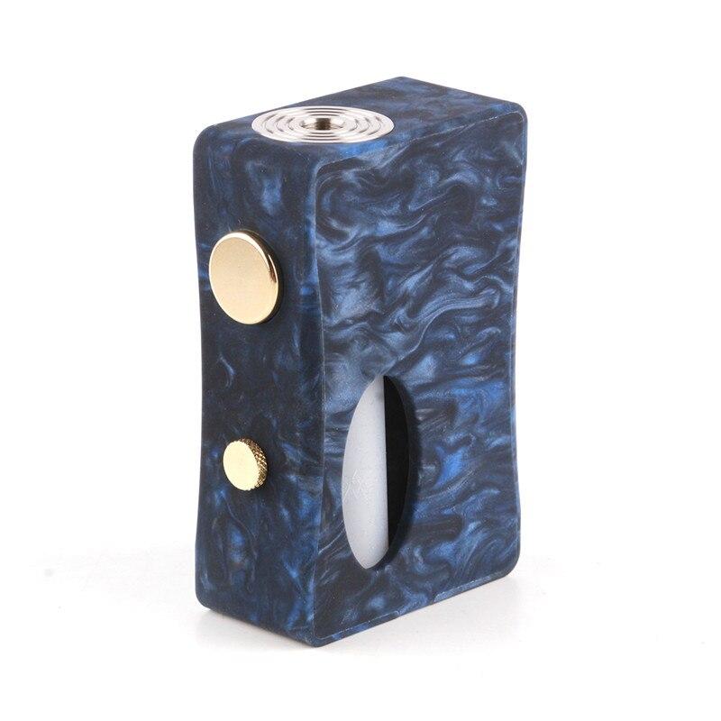 Original Aleader x-goutte Squonk boîte MOD résine bois corps Cigarette électronique Mod 7 ml Squonk bouteille 510 fil Vape boîte Mod Kit - 4