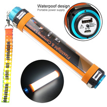 Multi-functional Waterproof Camping Tent Light Outdoor Portable Led Lanterns USB Rechargeable Power Bank Led Flashlight Torch