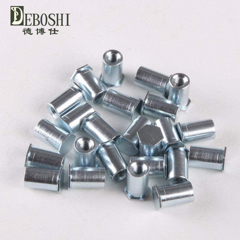 100PCS M413 MM Blind Hole Pressure riveting Stud//Rivet nut Column//Pressure riveting Pieces Rivet Nut