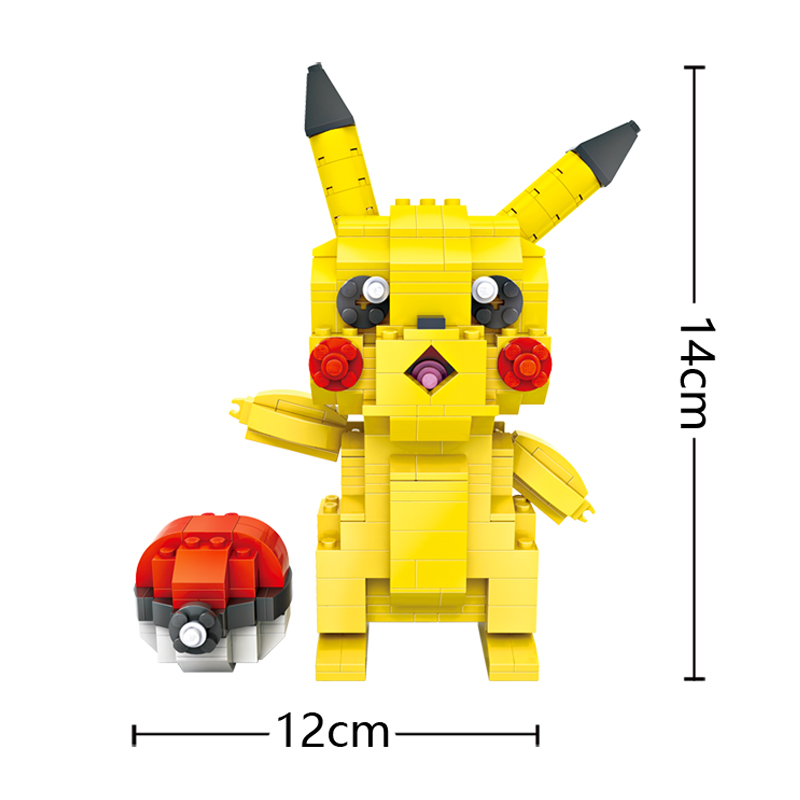 Resultado de imagen de LOZ MINI BLOCKS pikachu