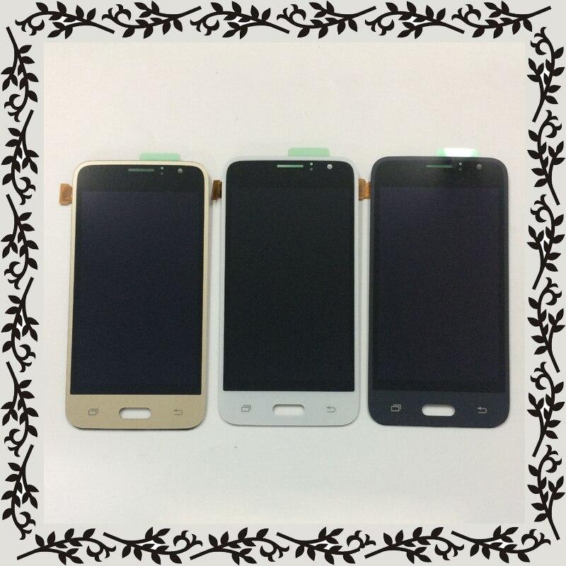 4.3 Pour Samsung Galaxy J1 2016 J120 SM J120F J120M J120H J120G Panneau D'affichage à CRISTAUX LIQUIDES + Écran Tactile Digitizer capteur Assemblée Verre
