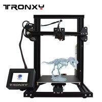 Tronxy 3d принтер новый 2019 XY 2 легко собрать Высокая точность набор «сделай сам» для начинающих
