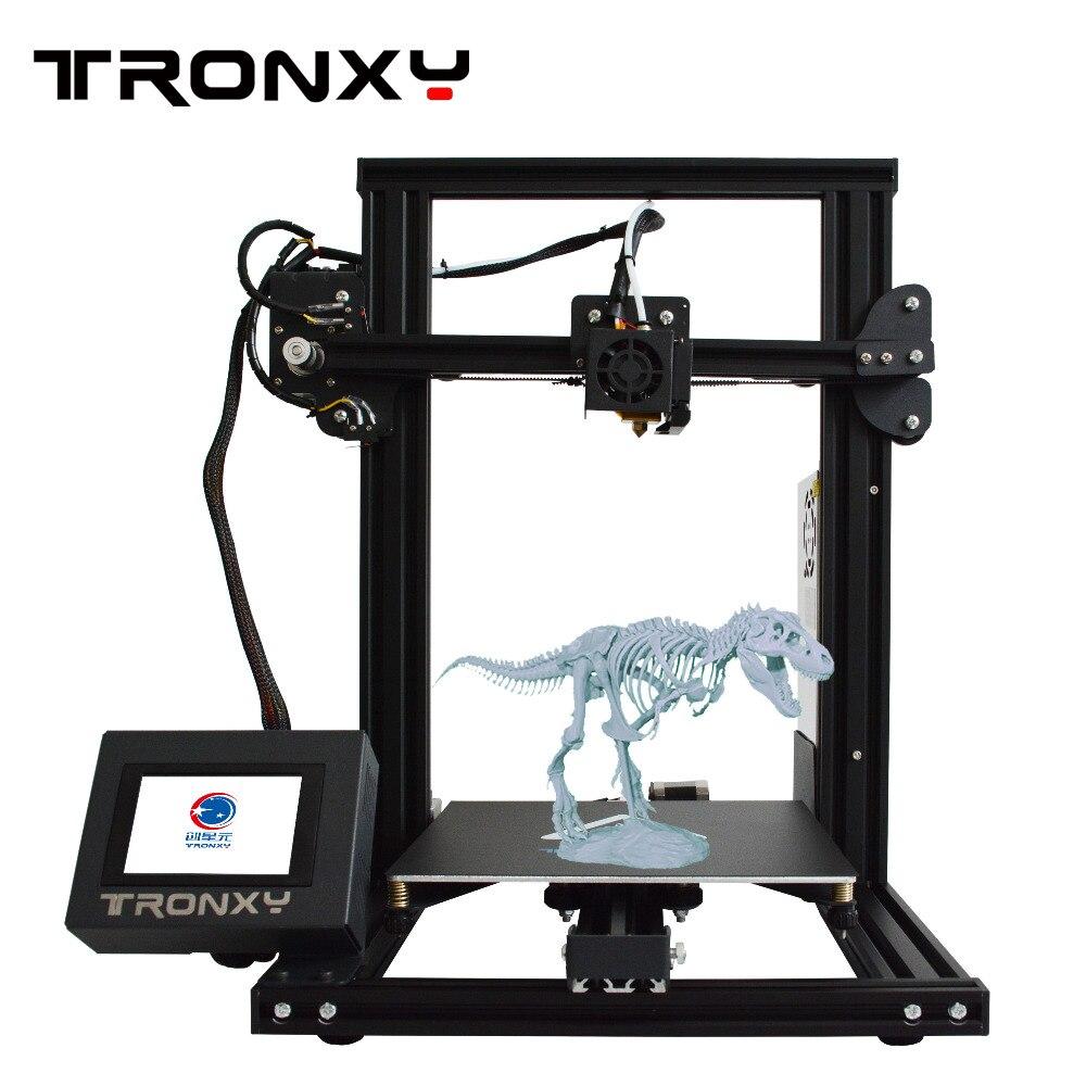 Tronxy imprimante 3d nouveau 2019 XY-2 facile à monter haute précision pour les débutants bricolage