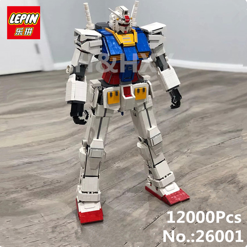 DHL Lepin 26001 Movie Series The MOC Super Robot Warrior Set Building Blocks Bricks Assembly Kid Toys Christmas Gift Robot Model single sale super heroes movie series biznis kitty from set 70809 unikitty bricks model building blocks children gift toys kf447