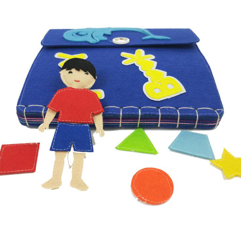 261e7ff261acb ᐂBaby Early Learning Education Story Quiet Book Creative DIY ...