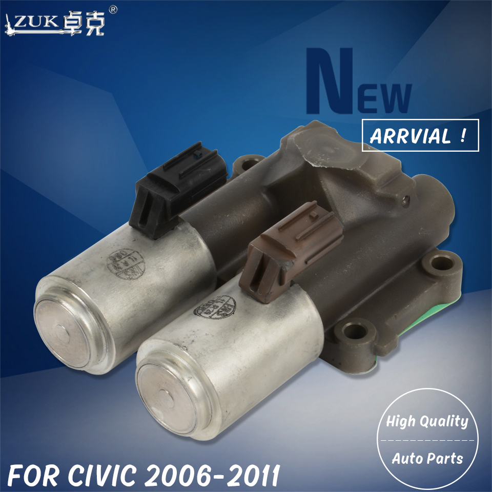 ZUK Transmission Dual Linear Solenoid Assy For HONDA For CIVIC FA1 FD1 FD2 2006 2007 2008