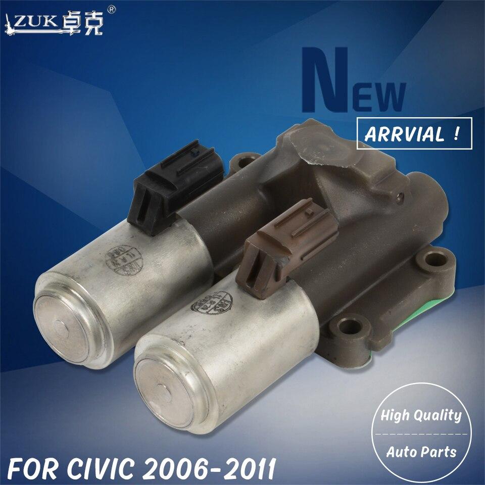 ZUK передач Двойной линейный электромагнитный клапан в сборе для HONDA CIVIC Для FA1 FD1 FD2 2006 2007 2008 2009 2010 2011 CITY 2007 2008 GD6/GD8