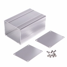 100x65x50mm   Aluminum Enclosure Case Electronic Project PCB Instrument Box Aluminum Enclosure стоимость