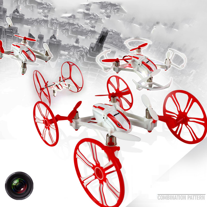0.3MP Camera Drones New U941A HD Remote Control Helicopter 4-style Transformation 4-CH 2.4GHz Mini Flying UFO