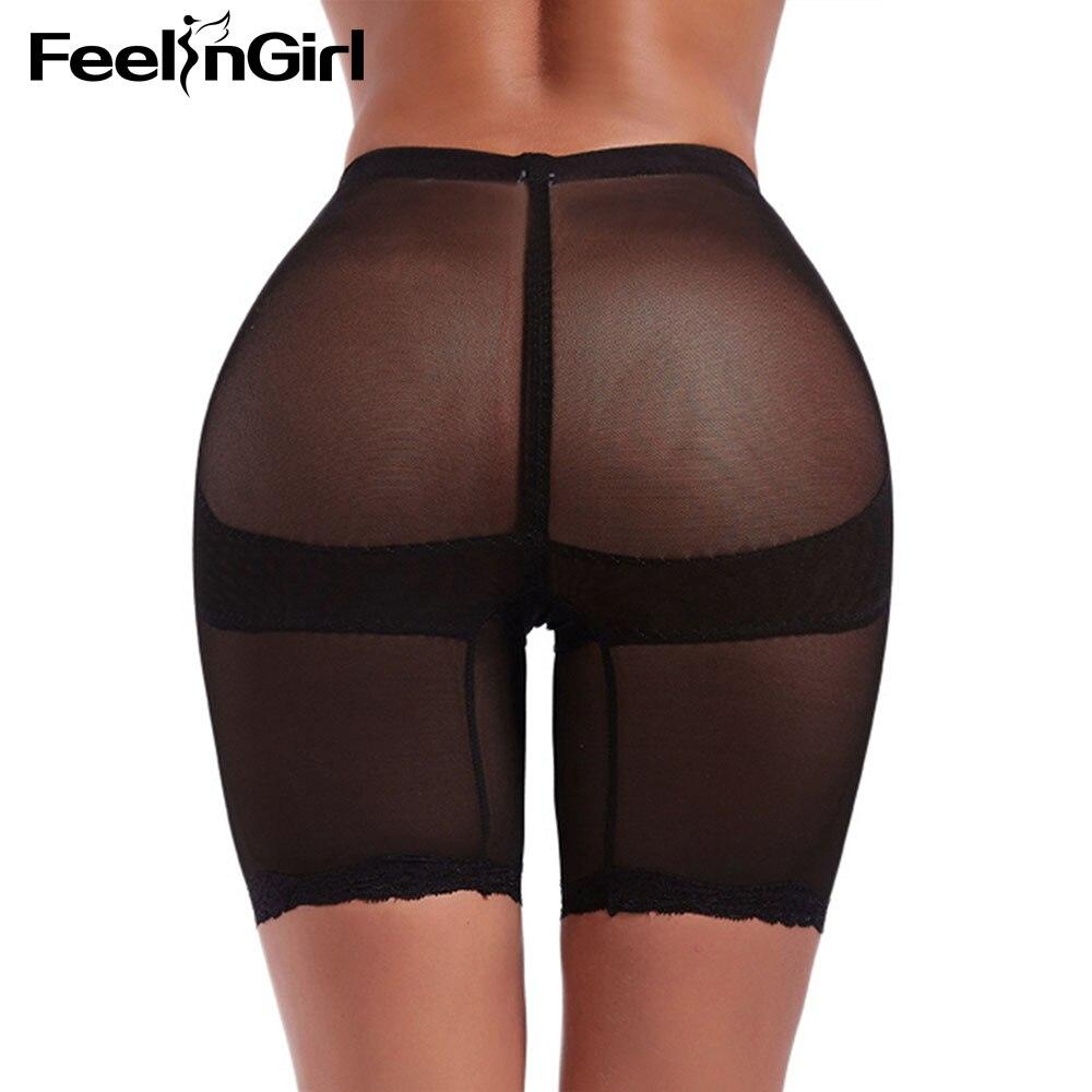 Control Panties Underwear & Sleepwears Feelingirl Lace Trim Butt Lifter Panties Functional Slimming Hot Body Shapers Underwear Hip Enhancer Tummy Control Shorts-c