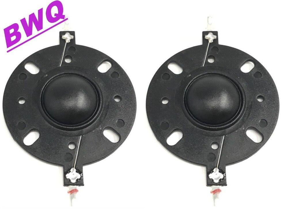 """1 Para Schwarz 25,4 25,5mm 1 """"silk Membran Dome Hochtöner Horn Stick Voice Coil"""