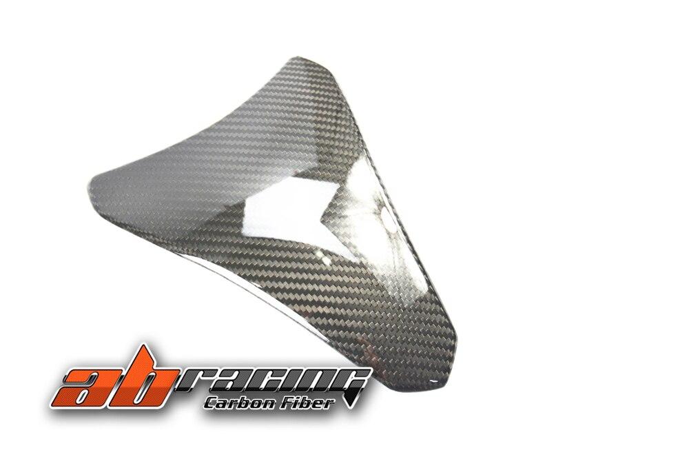 Tank Pad cover For Kawasaki ZX10R 2016 2017 2018 Full Carbon Fiber 100% Twill scooter parts real carbon fiber 3d tank pad protector fits for kawasaki z1000 2007 2009 carbon free shipping