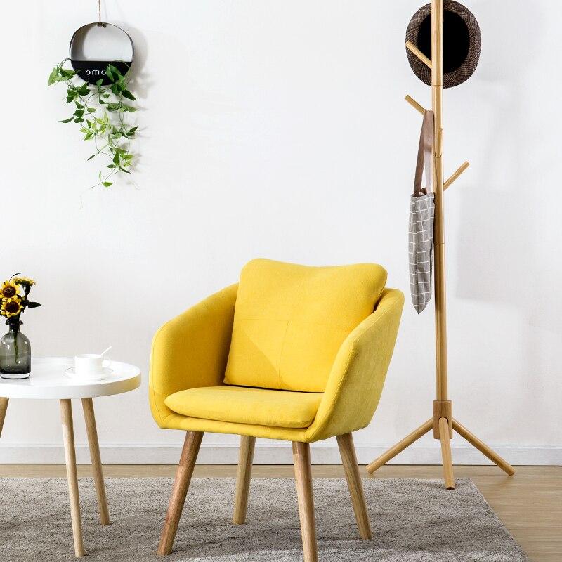 Creative nordique étude chambre bureau chaise unique canapé Restaurant par le dos à manger chaise moderne minimaliste maison paresseux chaise