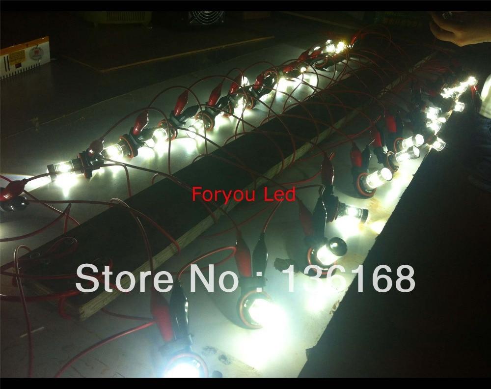 2Pcs Canbus H1 H3 30W XBD CREE Μάρκες LED Μπροστινό - Φώτα αυτοκινήτων - Φωτογραφία 4