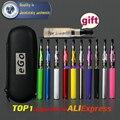 Caso Zipper eGo Kits CE4 eGo e Cigarro 650 mah 900 mah 1100 mah 1300 mAh ego t Bateria CE4 atomizador 1.6 ml de Cigarro Eletrônico