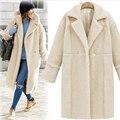 2016 мода уличный стиль женщины зимние пальто темперамент комфортно мягкий casacos популярные feminina теплое пальто JT368