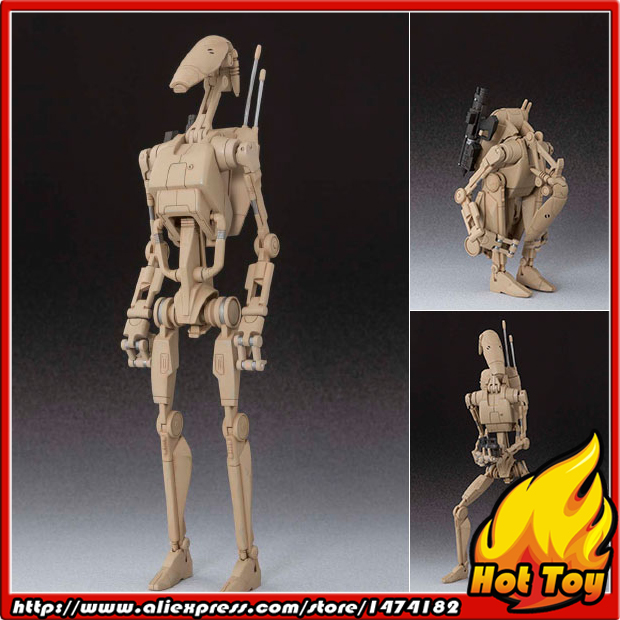 "Original BANDAI Tamashii Nations S.H.Figuarts (SHF) <font><b>Action</b></font> <font><b>Figure</b></font> - Battle <font><b>Droid</b></font> from ""Star Wars Episode I: The Phantom Menace"""