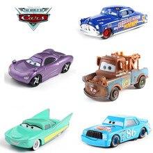 1d84fce12 39 estilo coches Disney Pixar coches 2 3 Rayo McQueen tormenta Ramírez 1:55  vehículo fundido de aleación de Metal chico Juguetes.