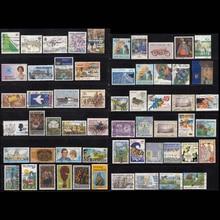 Новая Зеландия страна 100 шт./лот все разные нет отмена в хорошем состоянии для сбора, использовать почтовые марки