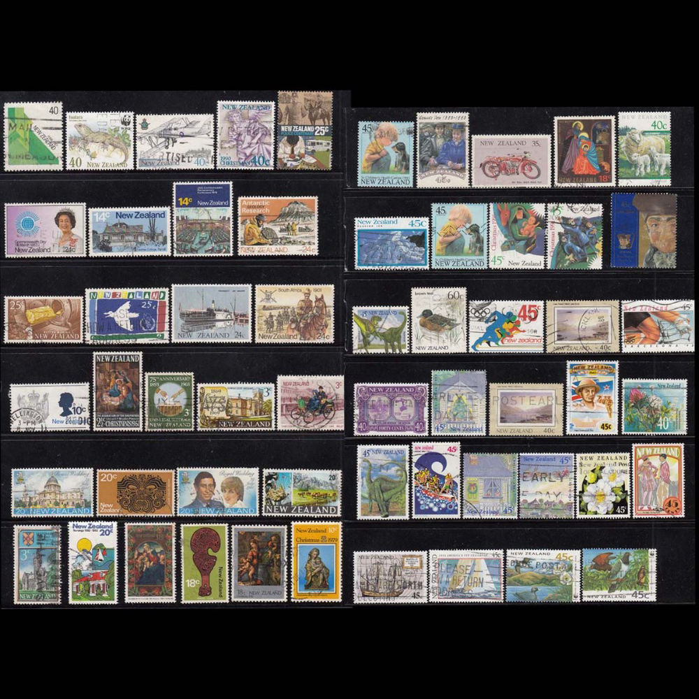 New Zealand Country 100 PCS / Lot All different No Repeation In Good conditon For Collection , Use Mail Post Stamps mr j2s 20b used good in conditon with free dhl ems