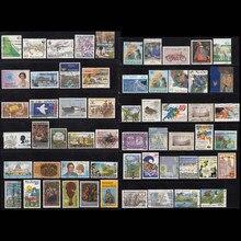 Nova zelândia país 100 pçs/lote tudo diferente sem repetição em bom conditon para a coleção, use selos de correio