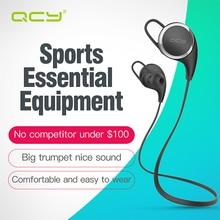 Qcy qy8 aptx 3d stereo słuchawki sportowe słuchawki bezprzewodowe bluetooth 4.1 zestaw słuchawkowy z mikrofonem do iphone 6 7 android