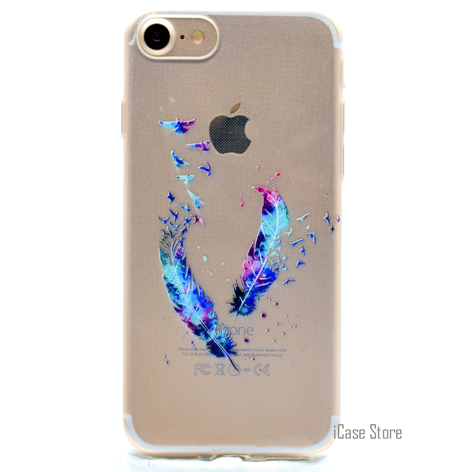 High Quality Cute Cartoon Phone Case For iPhone 7 Soft Silicone Gel Phonet Casi Pone Css ...