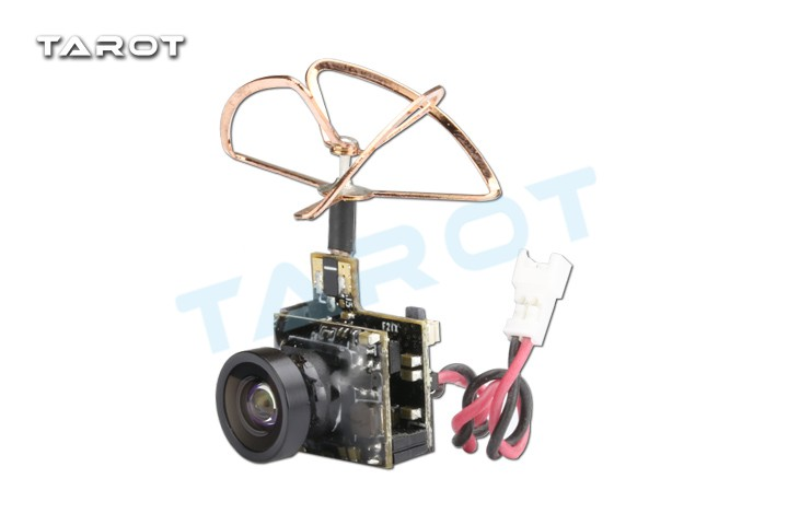 Tarot TL300M5 5.8G 25mW 48CH Integrated Mini Tiny AV Transmitter TX with 600TVL M7 Camera for DIY Racing Drone FPV f19128 5 8g 25mw 48ch mini tiny 520tvl camera hc25 build in fpv transmitter antenna for indoor 80 90 100 brushed racing drone
