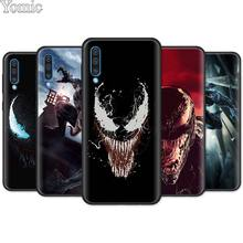 Marvel Venom Super Hero Black Soft Case for Samsung Galaxy A50 A70 A40 A10 A20 A30 A60 M30 M10 M20 Silicone TPU Cover