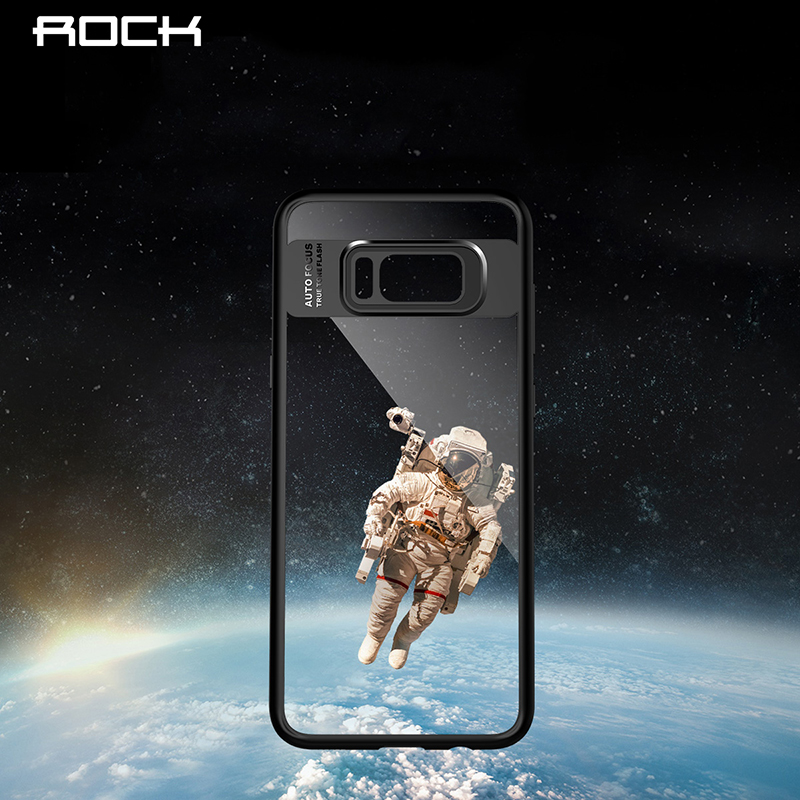 For Samsung S8/ S8 Plus Case Rock Clarity series Mobil phone Protection Case Shell Cover For Samsung S8/ S8 Plus TPU PC