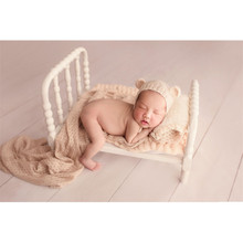 купить Newborn Posing Sofa Bed for Photo Shoot Props Studio Baby Photography Accessories Basket Photo Props Baby Girl Shooting Props в интернет-магазине