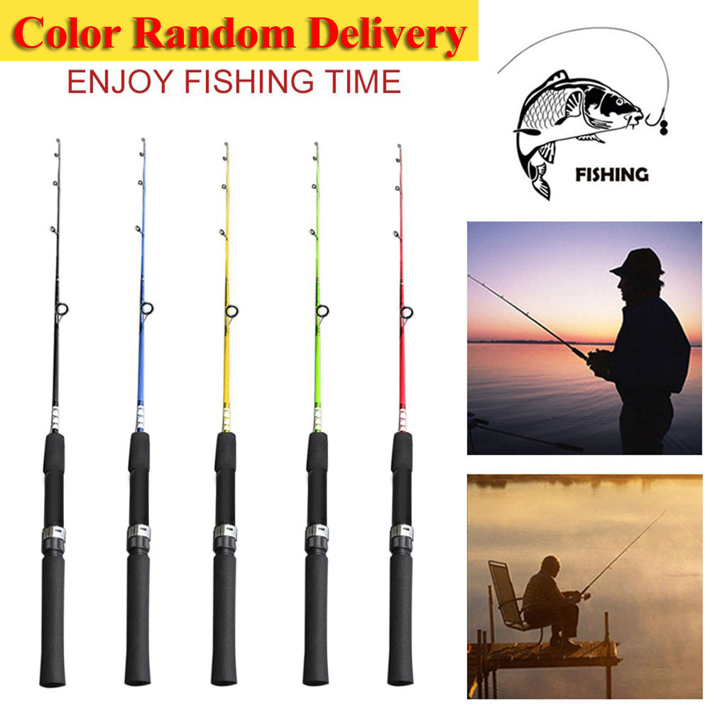 Solid High Carbon Fiber Fishing Rod Pole Fishing Tackle Fishing Accessories For River Lake Sea 120/135/150cm drop shipping New