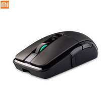 лучшая цена 100% Original Xiaomi Gaming Mouse, Wireless and Wired Dual Modde Rechargeable Battery Mouse with 7200DPI Optical RGB Backlight