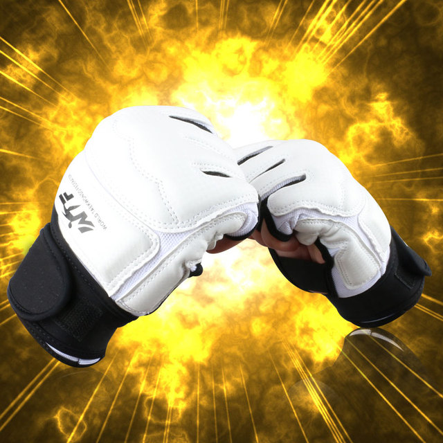 WTF Approved Martial Arts Sports Hand Guard Taekwondo Glove Fighting Hand Protector  Boxing Gloves Hand Protective Tool