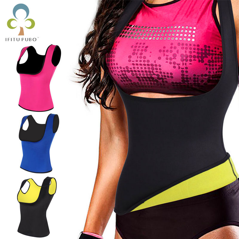 Vest Shirt Tank-Top Redu-Tops Body-Shaper Waist-Trainer Chest-Abdomen Yogo Women GYH