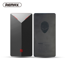 REMAX LED Portable 5000mAh Power Bank Red LED QC2.0 USB Portable Charger External Battery for Iphone 7/xiaomi/samsung