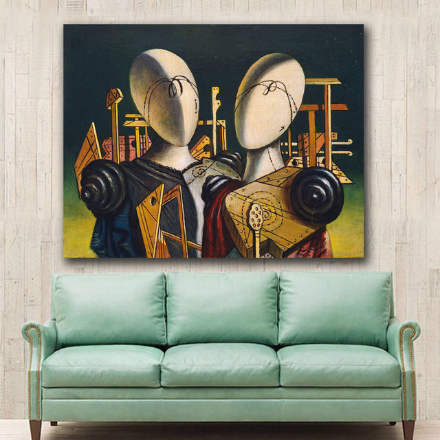 Canvas Oil Painting For Living Room Home Decoration  2