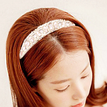Мода Хрустальные Бусины Hairband Продаже Аксессуары Для Волос Ободки Свадебные