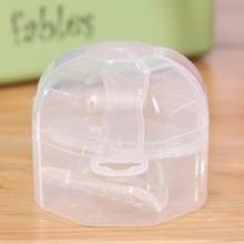 Портативный для малышей соски-пустышки держатель, чехол для соски на кроватку ящик для хранения ясный для путешествий